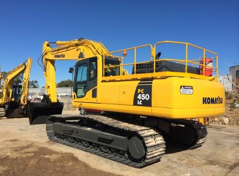 PC450-8 Komatsu Excavator 2