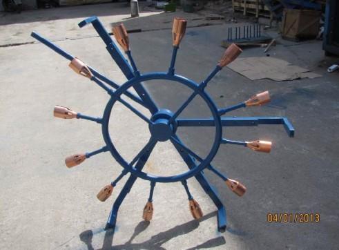 Pipe heating rings, internal and external 2
