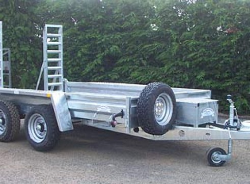 Plant Trailers suitable for Ride-On Sweepers 1
