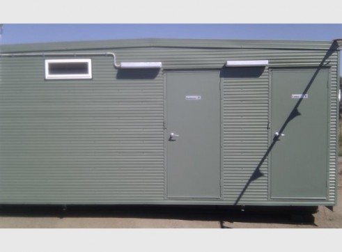 PORTABLE CAMP ACCOMMODATION 2