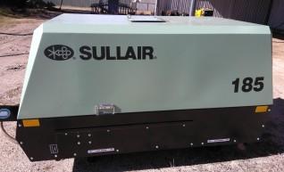 Portable Dustless Sandblaster with Diesel air Compressor 1