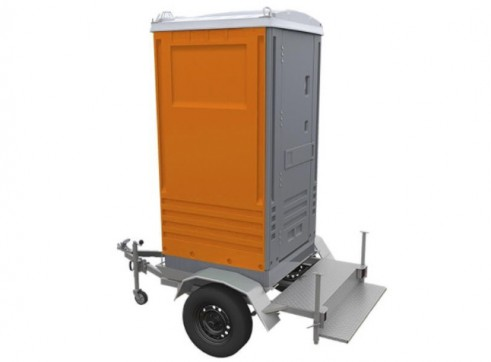 Portable Toilet - Trailer Mounted 1