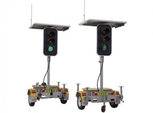 Portable Traffic Light Set