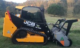 Posi-Track JCB 150T w/mulcher & post driver 1