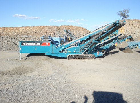 Powerscreen 2100X Triple Deck Screen - Hire or Buy 1