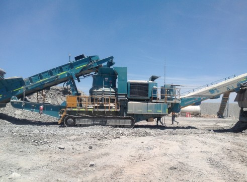 Powerscreen Maxtrak 1500 Cone Crusher 1