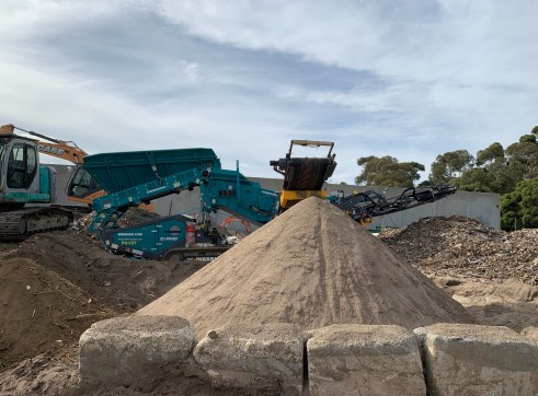 Powerscreen Warrior 1200 Reclaimer 1