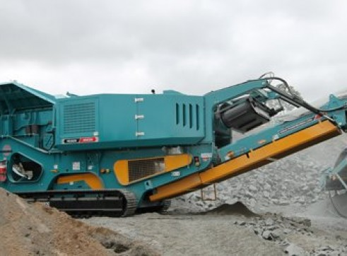 Powerscreen XR400S Jaw Crusher 1