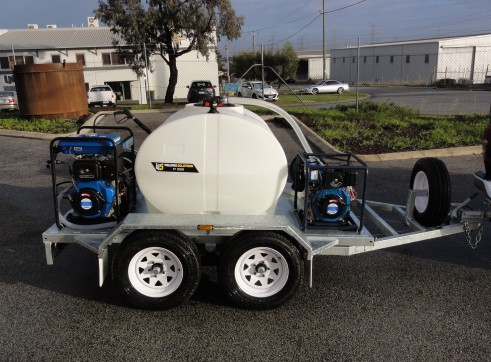 PRESSURE WASHER / WATER TRAILER COMBO 1
