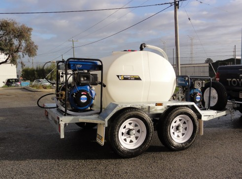 PRESSURE WASHER / WATER TRAILER COMBO 3