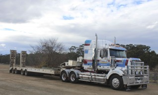 Prime Move and Quad Low Loader 1