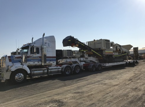 Prime Move and Quad Low Loader 4