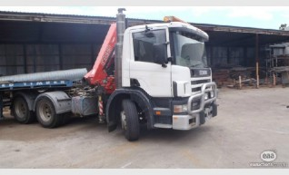 Prime Mover Scania 380hp, 85T with Crane 1