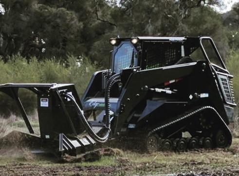 PT100 Posi-Track w/Forestry Mulcher 5