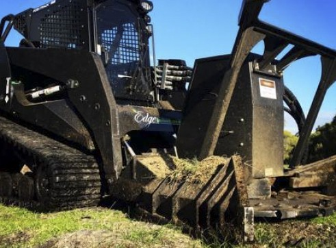 PT100 Posi-Track w/Forestry Mulcher 2