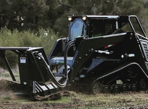 PT100 Posi-Track w/Forestry Mulcher 10