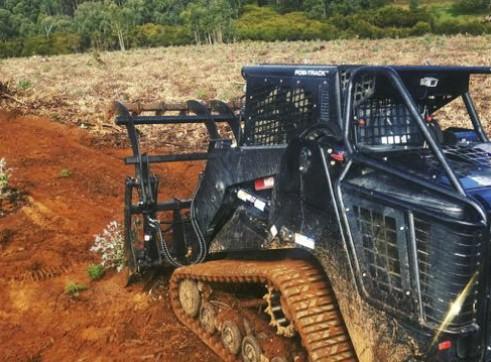 PT100 Posi-Track w/Forestry Mulcher 3