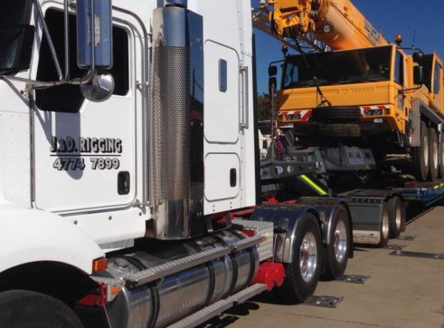 QUAD AXLE LOW LOADER FLOAT & DOLLY - TRANSTECH 1