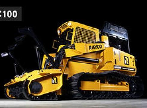 Rayco C100 Forestry Mulcher