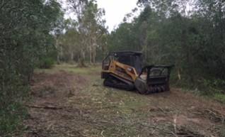 RC100 Posi-Track w/Forestry Mulcher 1