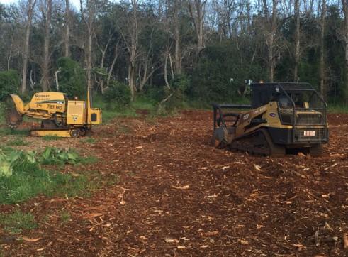 RC100 Posi-Track w/Forestry Mulcher 2