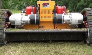 Remote-Control Slope Mower - Ridgerunner 9600  1
