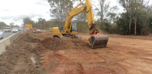 Removal of Top Soil & Clay 1