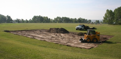 Removal of Top Soil & Clay 3