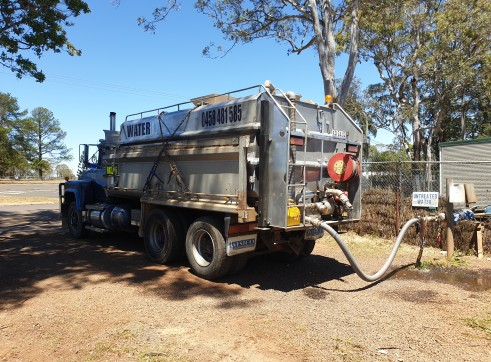 RKR Water cartage & Tipper hire 1