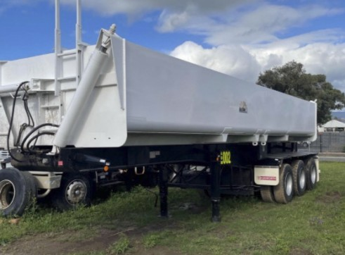 Road Train Side Tippers 4