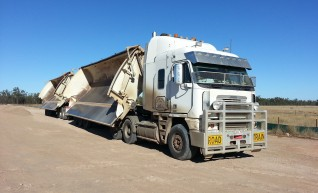 Road Train - Side Tippers 1
