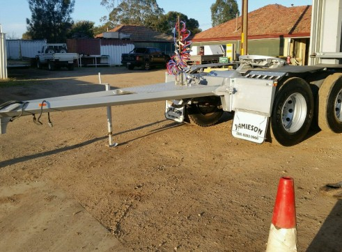 Road train Tandem dolly tripple rated.  1