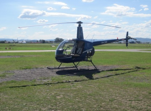 Robinson R22 Beta II Helicopter 1