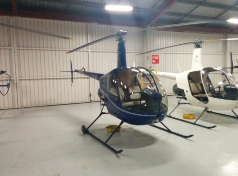 Robinson R22 Beta II Helicopter 3