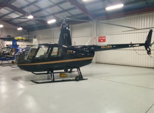 Robinson R44 Raven II Helicopter 1