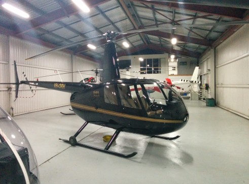 Robinson R44 Raven II Helicopter 3