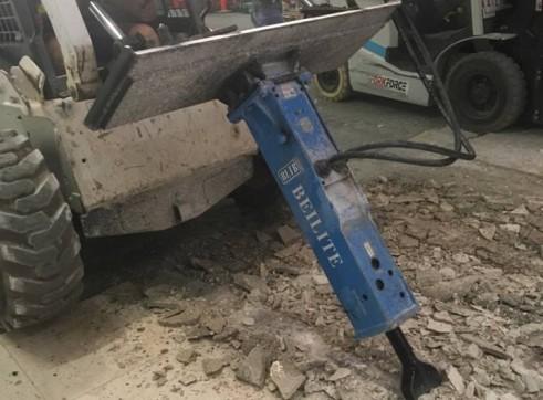 Rock Breaker - Suit Skid Steer Loader- Mini Excavator 1