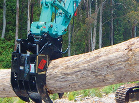 Rock Grabs - suit 1.5 to 6 ton excavators 1