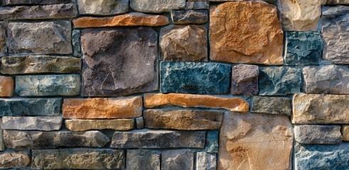 Rock Wall Construction 2