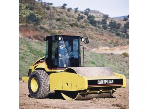 Roller Single Drum Smooth 18t - Caterpillar CS663E 3