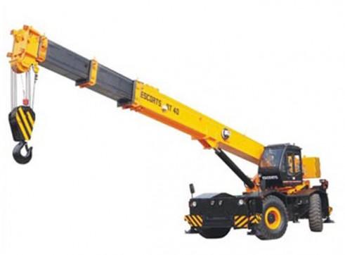 Rough terrain crane RT-30 1