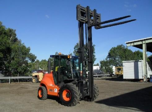 Rough Terrain Forklift 2