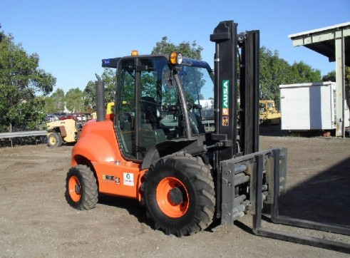 Rough Terrain Forklift 3
