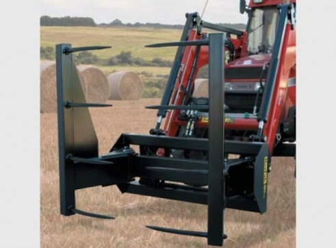 Round Bale Stacker Grab 1