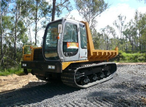 Rubber Tracked Dump Truck  1