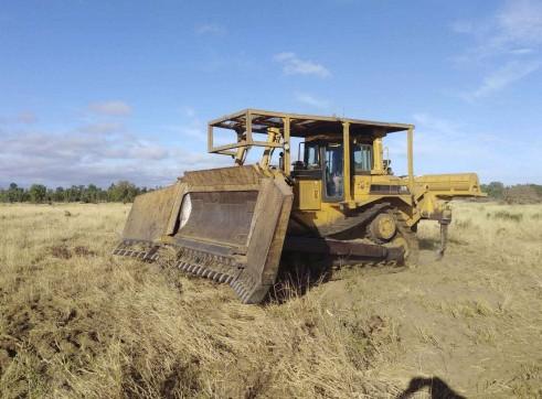 Rural Dozer hire - D7 1