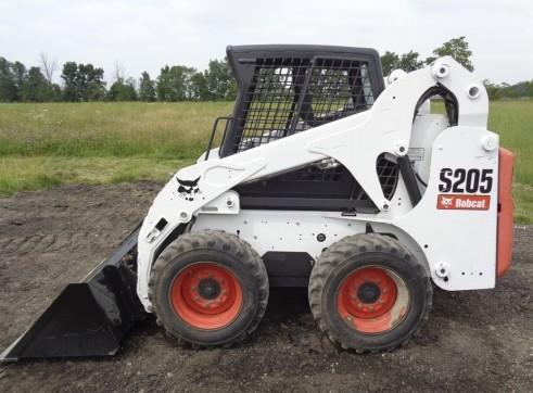 S205 Wheeled Bobcat