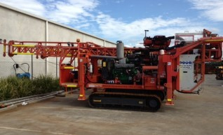 Sandvik DE710 Diamond Core Exploration Drill Rig- Melbourne 1