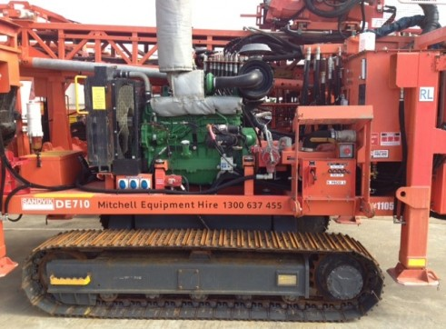 Sandvik DE710 Diamond Core Exploration Drill Rig- Perth 2