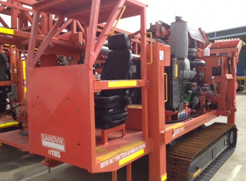 Sandvik DE710 Diamond Core Exploration Drill Rig 3